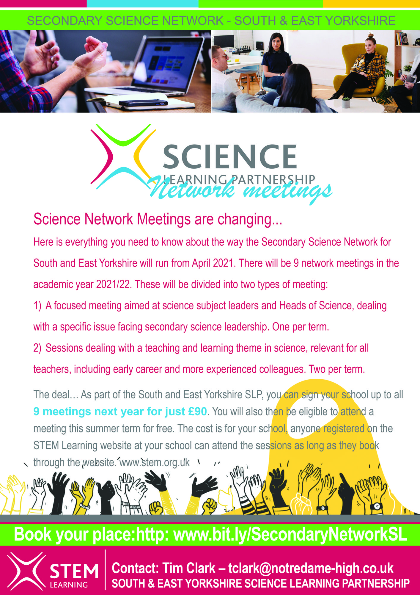 Secondary Science network offer