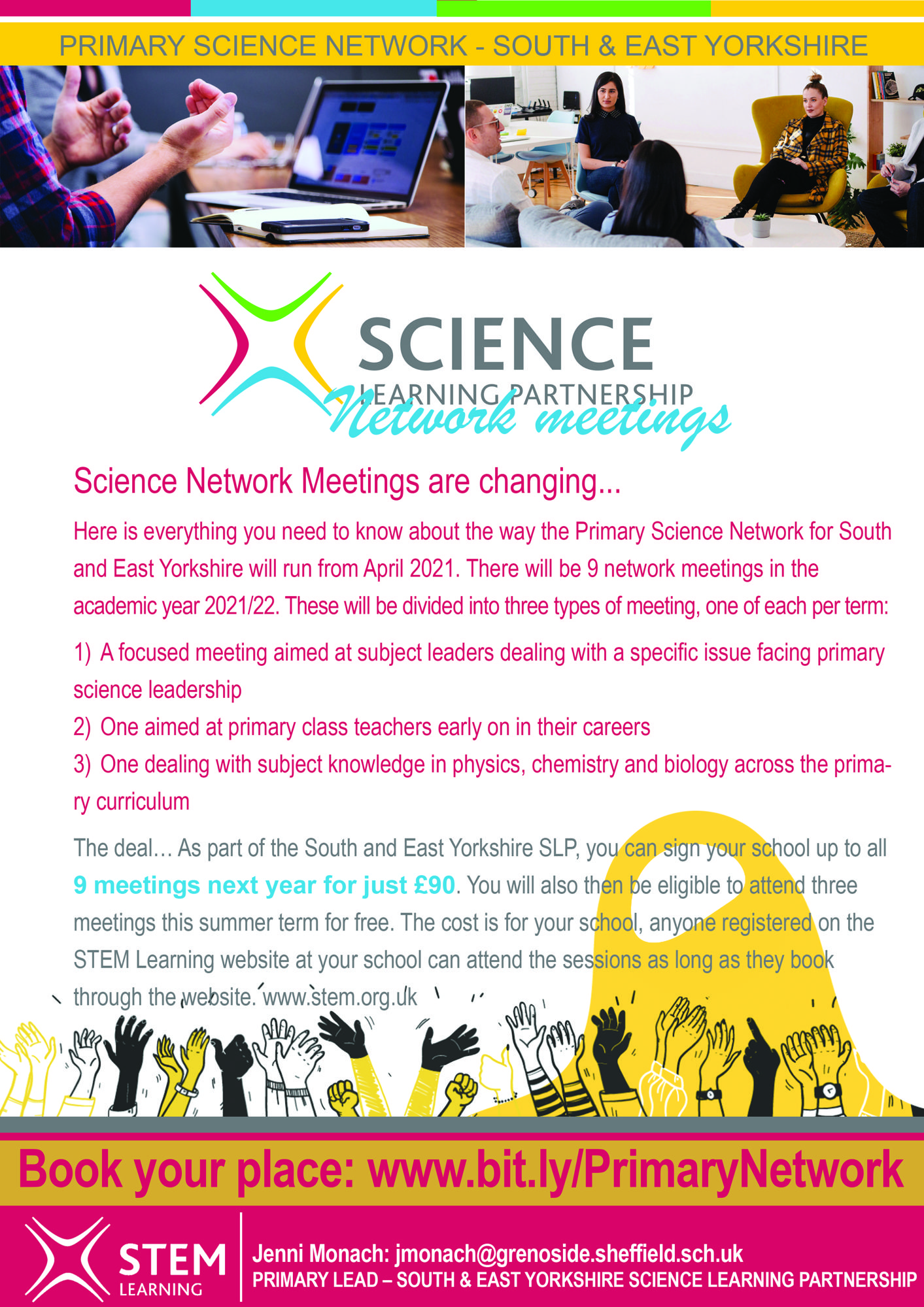Primary Science network offer